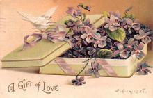 xrt599263 - Valentines Day Post Card Old Vintage Antique Postcard