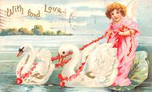 xrt599265 - Valentines Day Post Card Old Vintage Antique Postcard