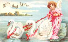 xrt599267 - Valentines Day Post Card Old Vintage Antique Postcard