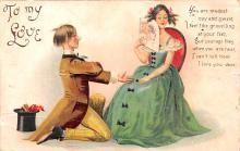 xrt599269 - Valentines Day Post Card Old Vintage Antique Postcard
