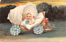 xrt599301 - Valentines Day Post Card Old Vintage Antique Postcard