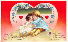 xrt599307 - Valentines Day Post Card Old Vintage Antique Postcard