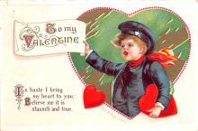 xrt599337 - Valentines Day Post Card Old Vintage Antique Postcard
