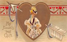 xrt599347 - Valentines Day Post Card Old Vintage Antique Postcard