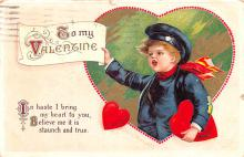 xrt599373 - Valentines Day Post Card Old Vintage Antique Postcard