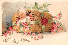 xrt599379 - Valentines Day Post Card Old Vintage Antique Postcard
