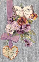 xrt599381 - Valentines Day Post Card Old Vintage Antique Postcard