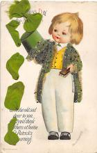 xrt601001 - St Patrick's Day Post Card Old Vintage Antique