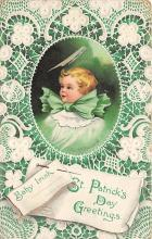xrt601003 - St Patrick's Day Post Card Old Vintage Antique