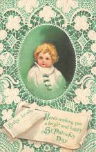 xrt601004 - St Patrick's Day Post Card Old Vintage Antique