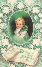 xrt601005 - St Patrick's Day Post Card Old Vintage Antique