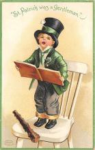 xrt601011 - St Patrick's Day Post Card Old Vintage Antique
