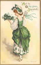 xrt601015 - St Patrick's Day Post Card Old Vintage Antique