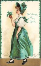 xrt601019 - St Patrick's Day Post Card Old Vintage Antique