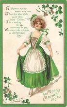 xrt601023 - St Patrick's Day Post Card Old Vintage Antique
