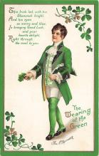 xrt601024 - St Patrick's Day Post Card Old Vintage Antique