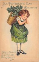 xrt601026 - St Patrick's Day Post Card Old Vintage Antique