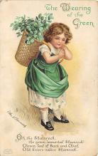 xrt601027 - St Patrick's Day Post Card Old Vintage Antique