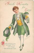 xrt601031 - St Patrick's Day Post Card Old Vintage Antique