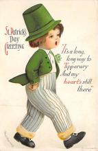 xrt601035 - St Patrick's Day Post Card Old Vintage Antique