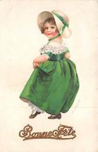 xrt601036 - St Patrick's Day Post Card Old Vintage Antique