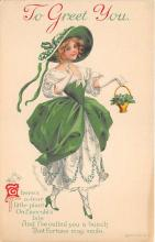 xrt601037 - St Patrick's Day Post Card Old Vintage Antique