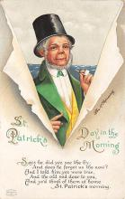 xrt601045 - St Patrick's Day Post Card Old Vintage Antique