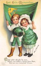 xrt601046 - St Patrick's Day Post Card Old Vintage Antique