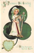 xrt601047 - St Patrick's Day Post Card Old Vintage Antique