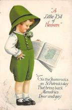 xrt601049 - St Patrick's Day Post Card Old Vintage Antique