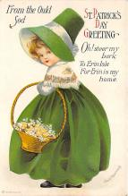 xrt601051 - St Patrick's Day Post Card Old Vintage Antique
