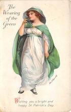 xrt601054 - St Patrick's Day Post Card Old Vintage Antique