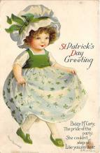 xrt601056 - St Patrick's Day Post Card Old Vintage Antique