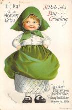 xrt601057 - St Patrick's Day Post Card Old Vintage Antique