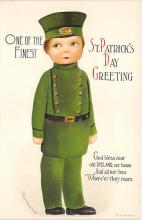xrt601058 - St Patrick's Day Post Card Old Vintage Antique