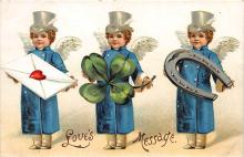 xrt601073 - St Patrick's Day Post Card Old Vintage Antique