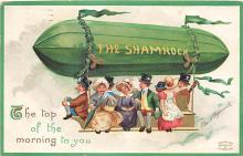 xrt601076 - St Patrick's Day Post Card Old Vintage Antique