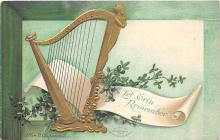 xrt601077 - St Patrick's Day Post Card Old Vintage Antique
