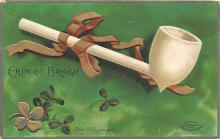 xrt601080 - St Patrick's Day Post Card Old Vintage Antique