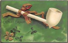xrt601081 - St Patrick's Day Post Card Old Vintage Antique