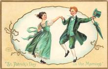 xrt601085 - St Patrick's Day Post Card Old Vintage Antique