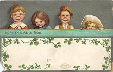 xrt601086 - St Patrick's Day Post Card Old Vintage Antique