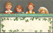 xrt601088 - St Patrick's Day Post Card Old Vintage Antique