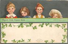 xrt601089 - St Patrick's Day Post Card Old Vintage Antique