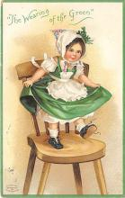 xrt601090 - St Patrick's Day Post Card Old Vintage Antique