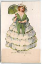 xrt601091 - St Patrick's Day Post Card Old Vintage Antique