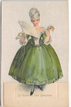 xrt601092 - St Patrick's Day Post Card Old Vintage Antique