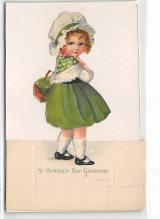 xrt601093 - St Patrick's Day Post Card Old Vintage Antique