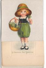 xrt601094 - St Patrick's Day Post Card Old Vintage Antique