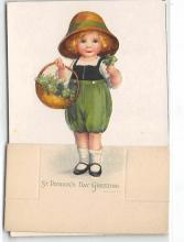 xrt601095 - St Patrick's Day Post Card Old Vintage Antique